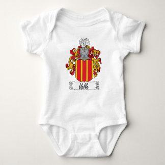 Valle Family Crest Baby Bodysuit