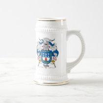 Valle Family Crest Mug