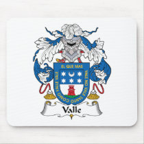 Valle Family Crest Mousepad