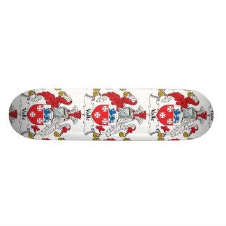 Valle Family Crest Skateboard Decks