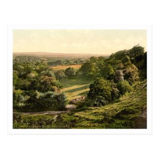 Valle feliz, pozos de Tunbridge, Kent, Inglaterra Postal