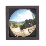 Valle Fisheye de la montaña de Colorado Cajas De Recuerdo De Calidad