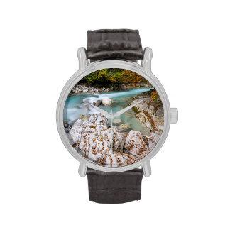 Valle inglés en la gama de Karwendel Reloj