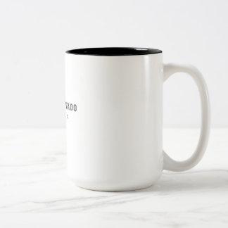 Valle Nevado Chile Two-Tone Coffee Mug