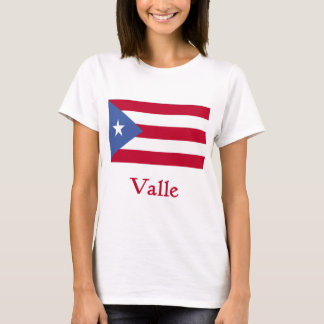 Valle Puerto Rican Flag T-Shirt
