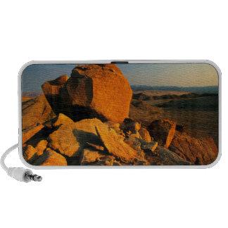 Valle rocoso del afloramiento y del desierto, PC altavoces