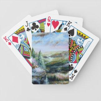 Valle sereno cartas de juego