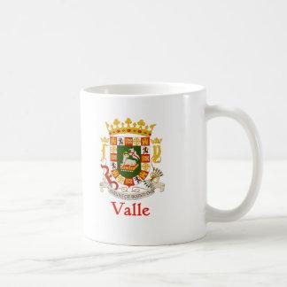 Valle Shield of Puerto Rico Coffee Mug