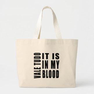 Valle Tudo está en mi sangre Bolsas De Mano