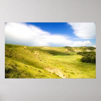 Valle verde póster
