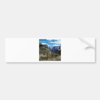 Valle Vista Yosemite de la montaña Pegatina Para Auto