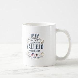 Vallejo, California 150th Anniversary Mug