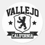 Vallejo Heraldry Round Stickers