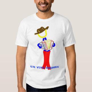 vallenato guy, QUE VIVA COLOMBIA! T Shirt