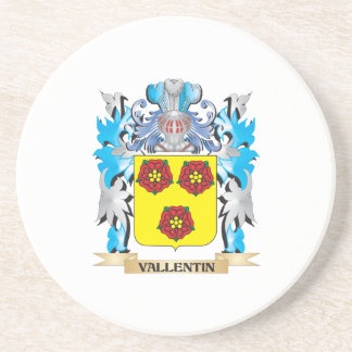 Vallentin Coat of Arms - Family Crest Coasters