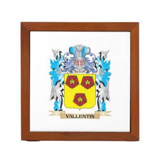 Vallentin Coat of Arms - Family Crest Desk Organizer
