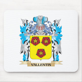Vallentin Coat of Arms - Family Crest Mouse Pad