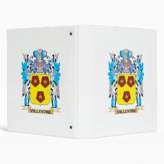 Vallentine Coat of Arms - Family Crest Binder