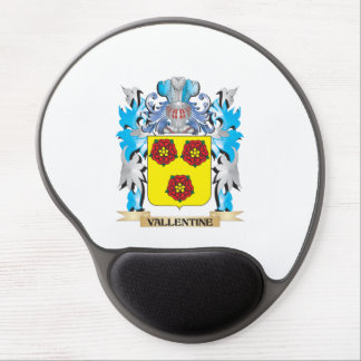 Vallentine Coat of Arms - Family Crest Gel Mouse Pad