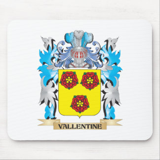 Vallentine Coat of Arms - Family Crest Mouse Pad