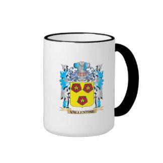 Vallentine Coat of Arms - Family Crest Ringer Mug