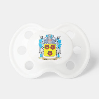 Vallentine Coat of Arms - Family Crest BooginHead Pacifier