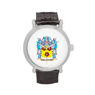 Vallentine Coat of Arms - Family Crest Wristwatches