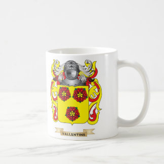 Vallentine Family Crest (Coat of Arms) Coffee Mug
