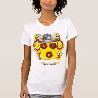 Vallentine Family Crest (Coat of Arms) T-shirt