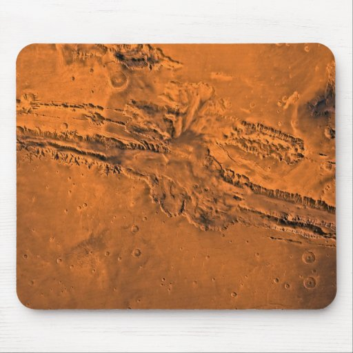 Valles Marineris Canyon System on Mars Mouse Pad