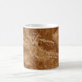 Valles Marineris Canyons of Mars Coffee Mug