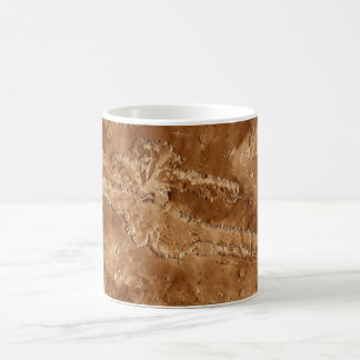 Valles Marineris Canyons of Mars Classic White Coffee Mug