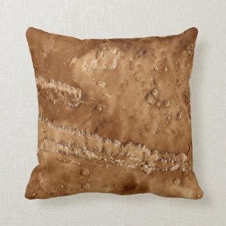 Valles Marineris Canyons of Mars Throw Pillow