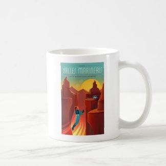 Valles Marineris Martian Space Tourism Coffee Mug