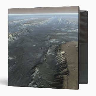 Valles Marineris, the Grand Canyon of Mars 3 Ring Binder