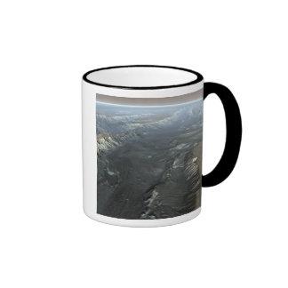 Valles Marineris, the Grand Canyon of Mars Ringer Coffee Mug
