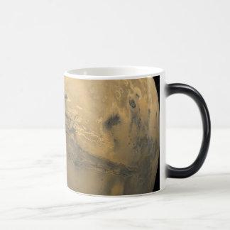 Valles Marineris: The Grand Canyon of Mars 11 Oz Magic Heat Color-Changing Coffee Mug