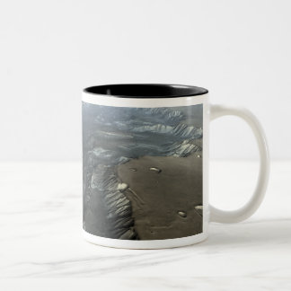 Valles Marineris, the Grand Canyon of Mars Two-Tone Coffee Mug