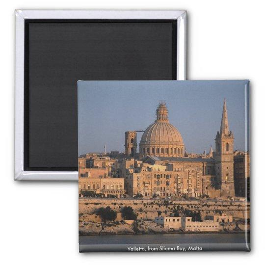 Valletta, from Sliema Bay, Malta Magnet