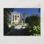 Ancient Building in Valletta Park Malta Postcard
