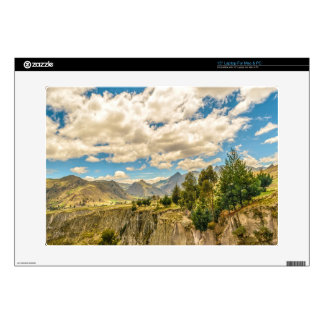 Valley and Andes Range Mountains Latacunga Ecuador Decal For Laptop