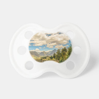 Valley and Andes Range Mountains Latacunga Ecuador Pacifier