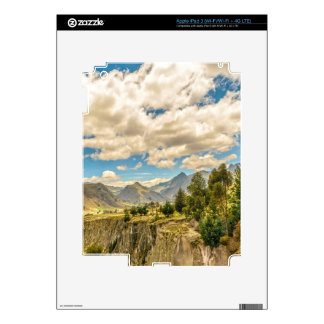 Valley and Andes Range Mountains Latacunga Ecuador Skin For iPad 3