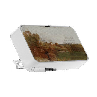 Valley at Fontcouvert by Gustave Courbet Mini Speakers
