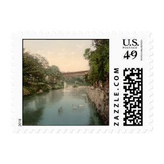 Valley Bridge, Scarborough, Yorkshire, England Stamps