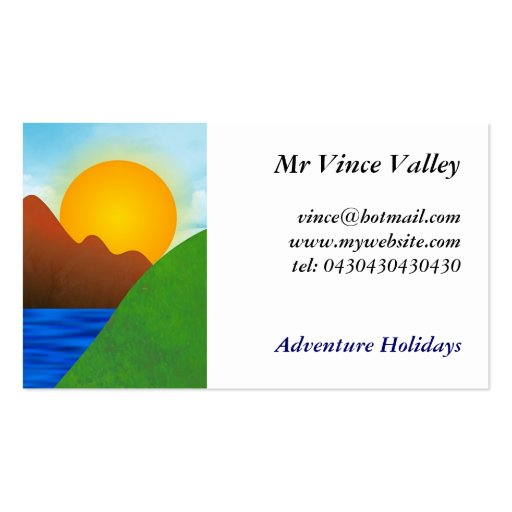 Valley Business Card