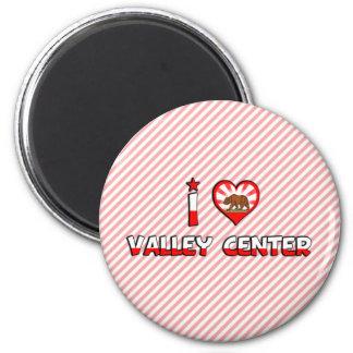 Valley Center, CA Refrigerator Magnet