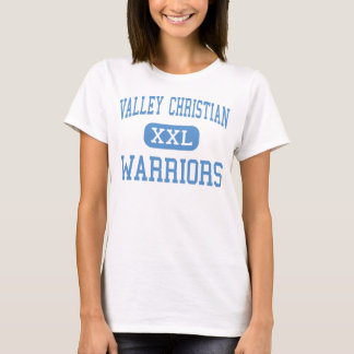 Valley Christian - Warriors - High - San Jose T-Shirt