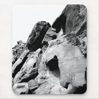 Valley Cliff Photograph Mouse Pad