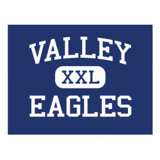 Valley - Eagles - High - North Hills California Postcard